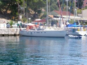 Muelle de Agia Evfimia